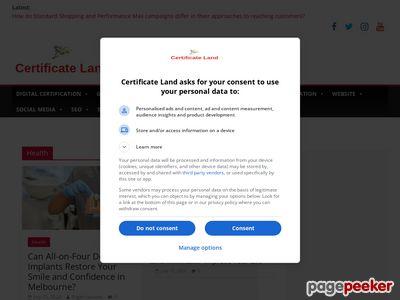 certificateland.com