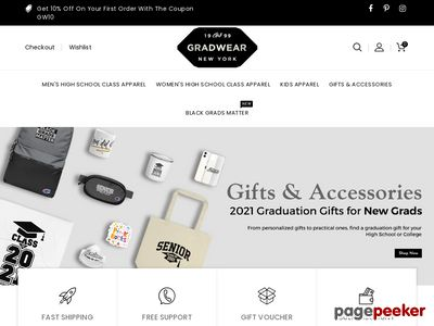 gradwear.com