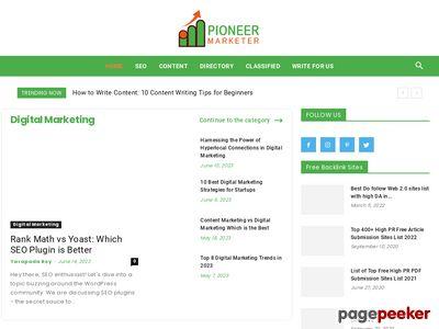 pioneermarketer.com