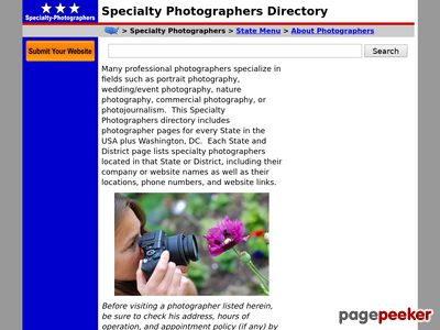 specialty-photographers.regionaldirectory.us
