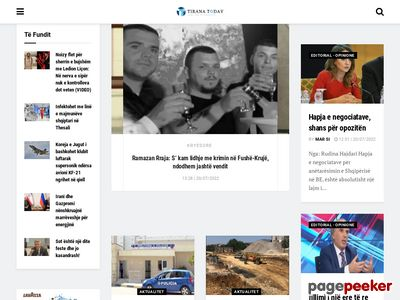 tiranatoday.com