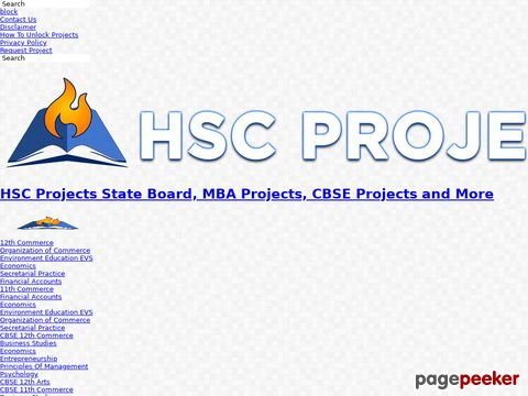 hscprojects.com
